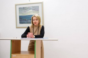 Begrüßungsworte durch die Generalkonsulin der Ukraine, Oksana Tarasyuk