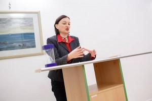 Vorstellung des Deutsch-Ukrainischen Kulturverein e.V. durch Dr. Nataliya Kostyak