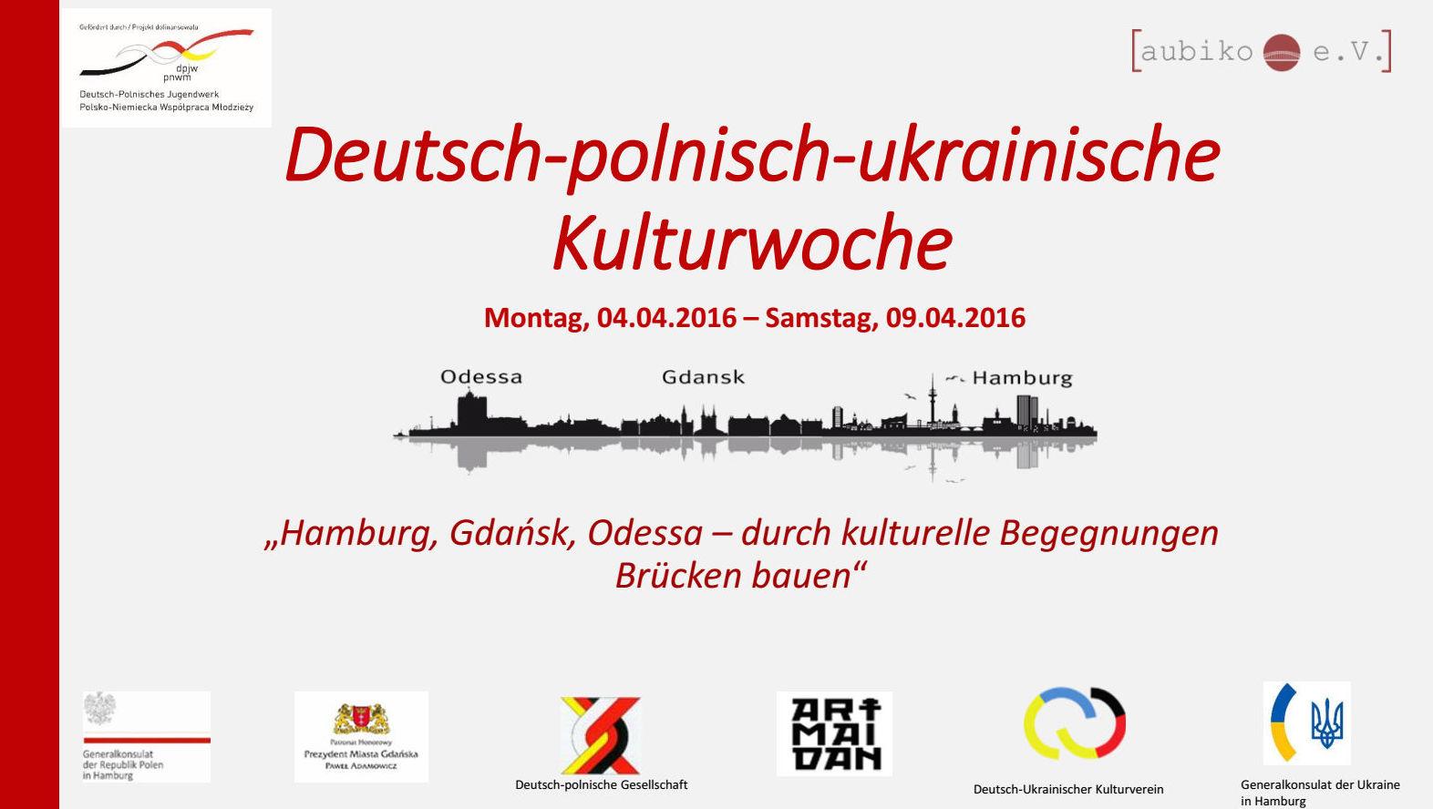 Kulturwoche Flyer